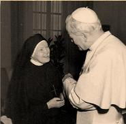 Madre Pascalina also published several articles, in which she described the daily life and routine of the pontiff.
